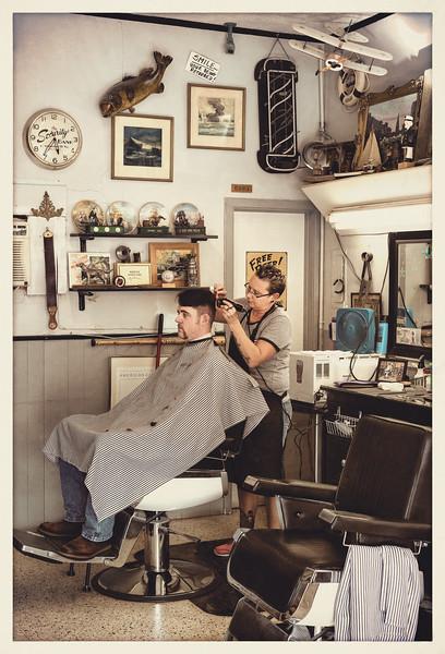 Old Timey Barber Shop, Safety Harbor