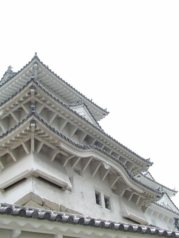 Himeji Castle. Himeji, 06/12/2001