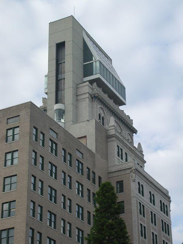 The Lamar building