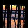 Virginia Beach ...under the boardwalk as the sun comes up!
