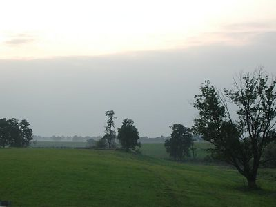 A typical Kentucky pastoral landscape, north of Danville