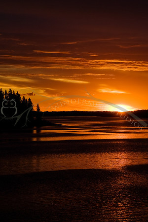 Elk Island Sunset