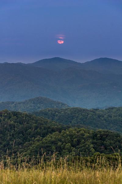 Solstice Moon Rise #1