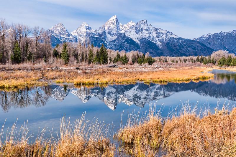 Reflections of Grand Teton