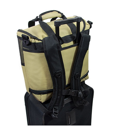 Backpack Cooler With Luggage Sleeve