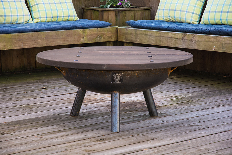 S&S Firepit With Table Top