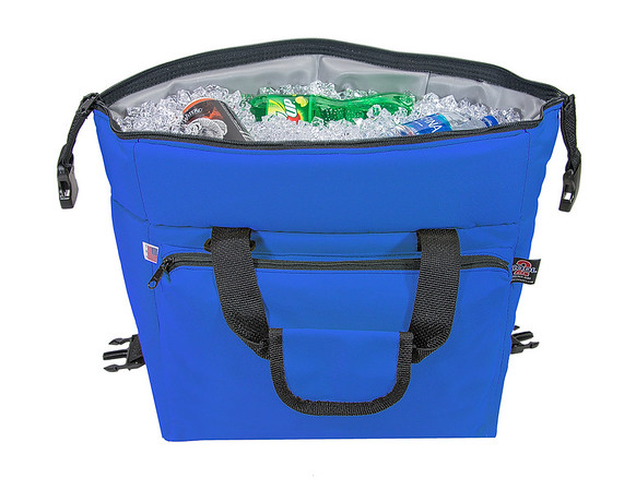 Tough Cooler With Ice