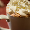 Hot chocolate from the Cookie Jar restaurant in Fairbanks, Alaska.