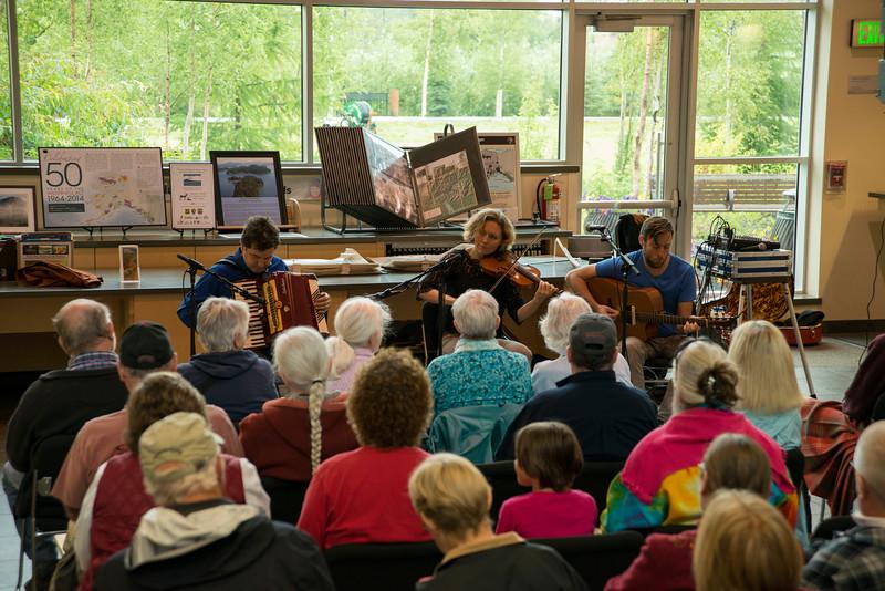 Fairbanks Summer Arts Festival performances.