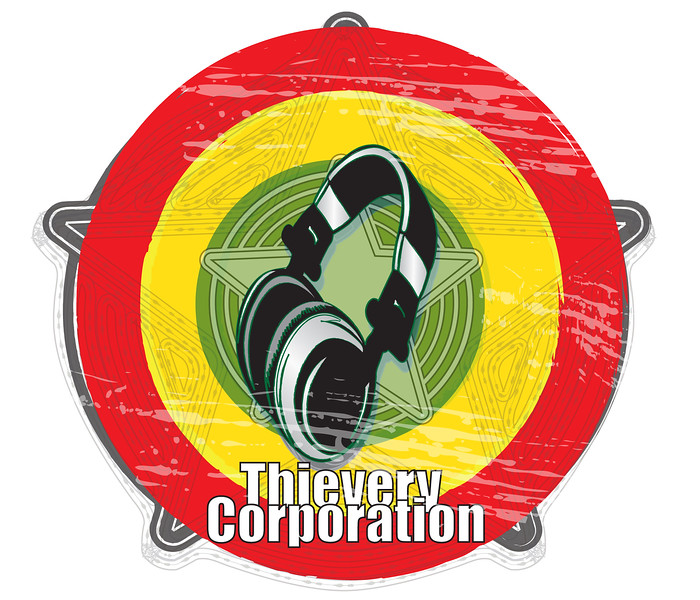 Logo Design for Thievery Corporation