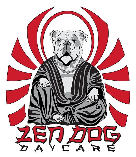 Logo for Zen Dog Daycare, Charleston, SC