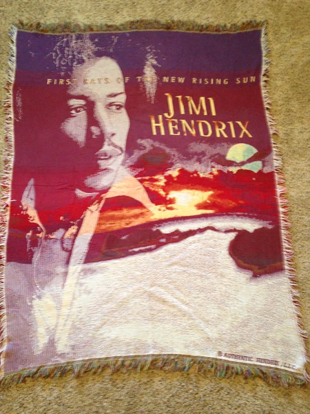 Original Tapestry Design for Jimmy Hendrix Limited