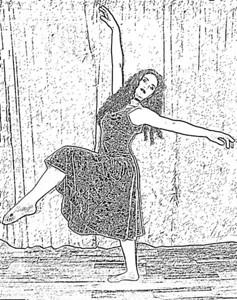 dance sketch070
