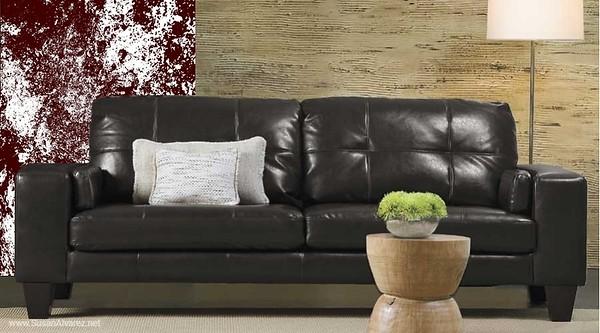 sofa brown 114 stone