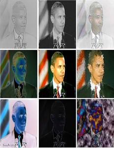 President Obama Pop Art 8 5x11