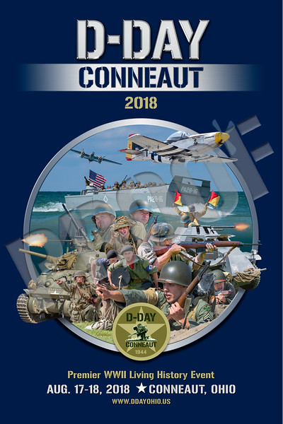 D-Day Conneaut 2018 Souvenir Poster