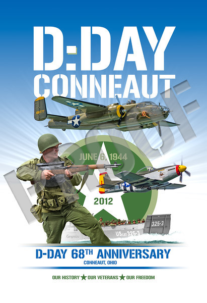 D-Day Conneaut 2012 Commorative Poster
