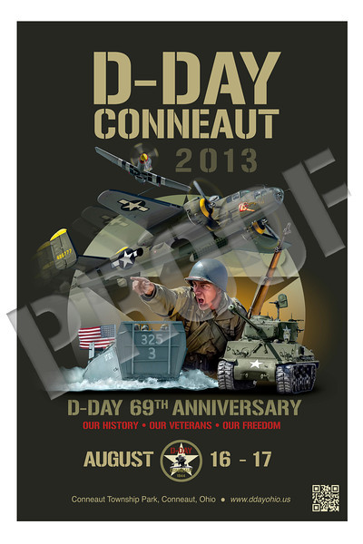 2013 D-Day Conneaut Artwork