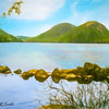 Soft art photograph Jordan Pond Acadia Nat. Park Maine