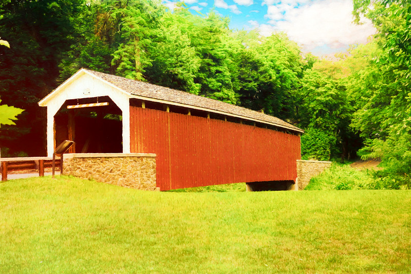 Siegrist's Mill covered Bridge