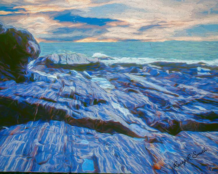 Rocky Maine Coast.
