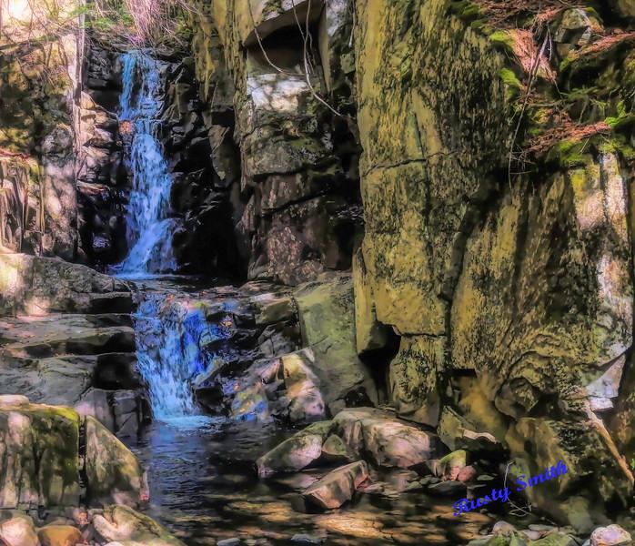 Dixville Notch flume brook