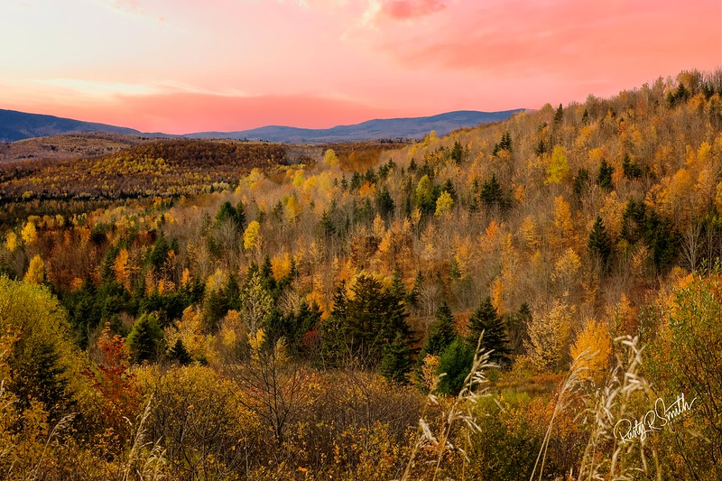 Autumn across Nothern New Hampshire.