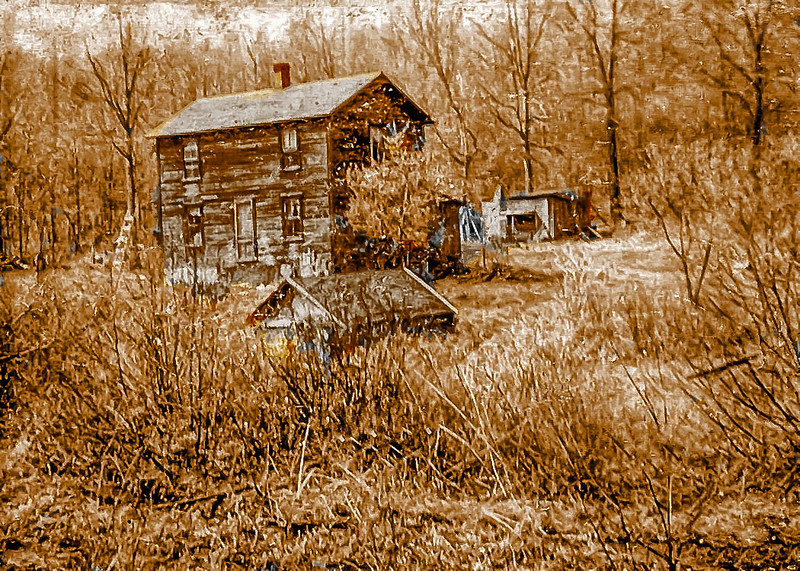 Old Homestead photo early 1950's era. a different concept