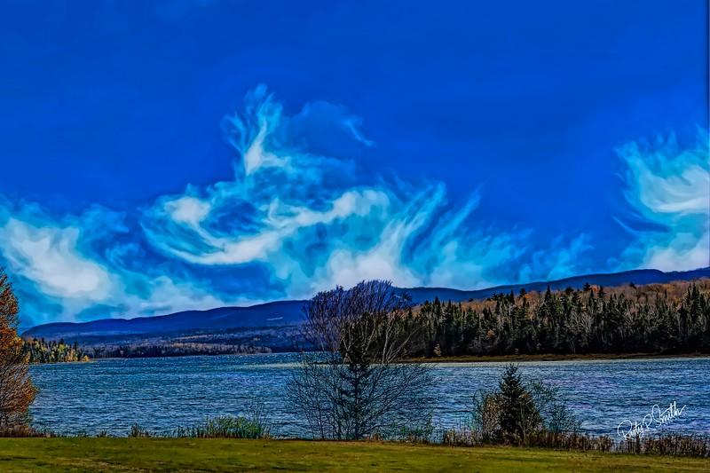 1st. Connecticut Lake Pittsburg New Hampshire.