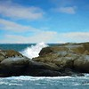 Rocky Maine seascape.
