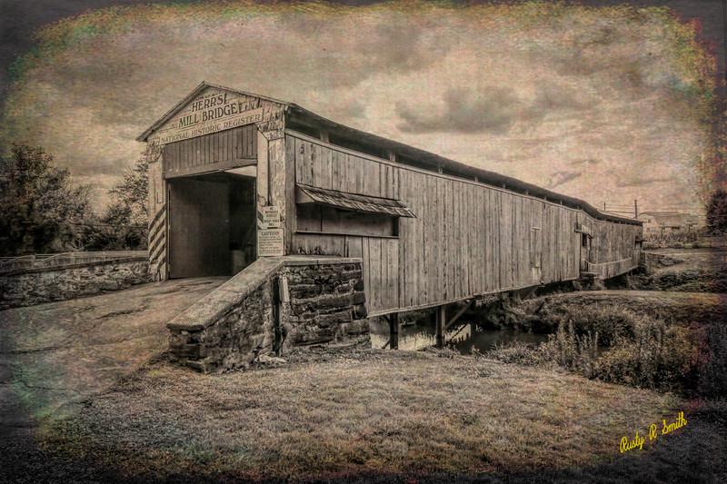 Herr's Mill Covered Bridge Lancaster Pa.