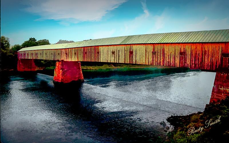 The CORNISH-WINDSOR covered BRIDGE