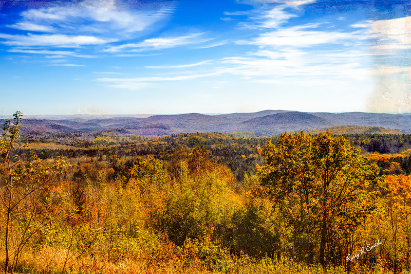 Late autumn in Vermont.
