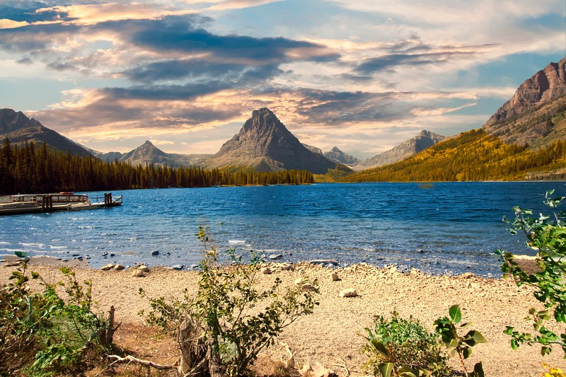 Two Medicine area of Glacier National Park