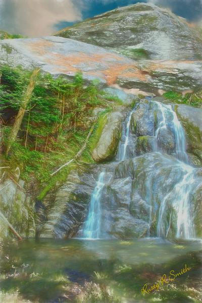 An artist waterfall landscape.