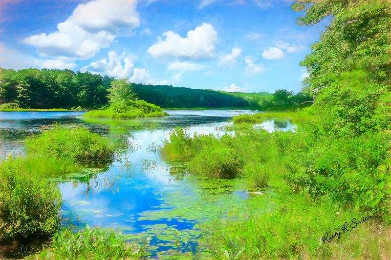 Small New England Pond.