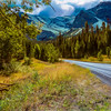 A western Montana mountain Landscape