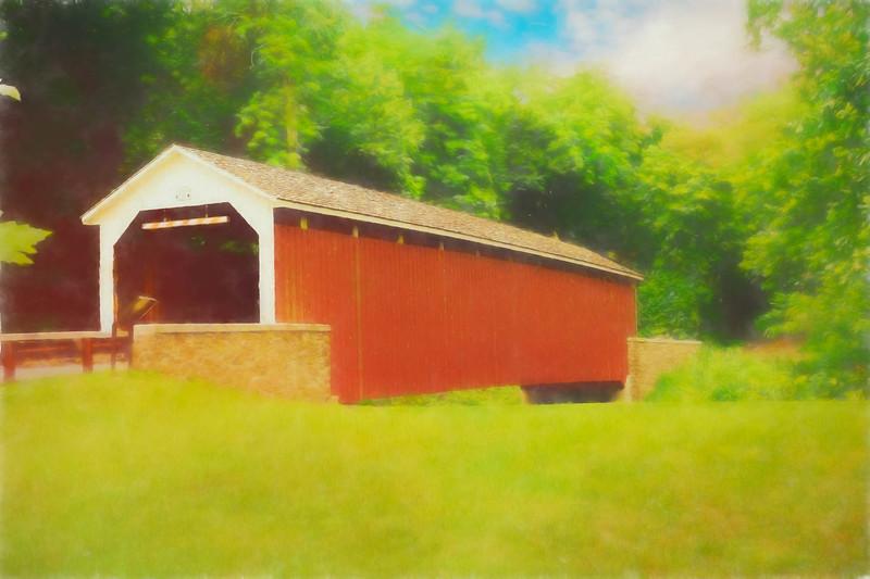 Siegrist's covered bridge,Pennsylvania.