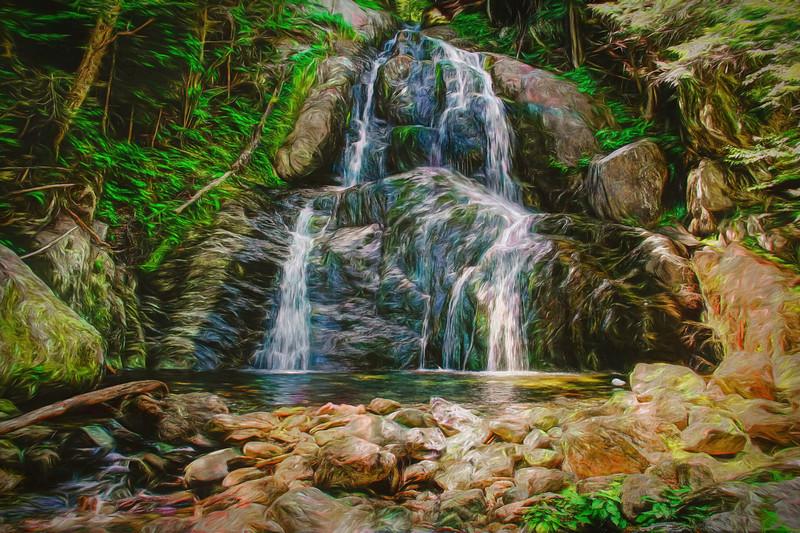 Large Waterfall.