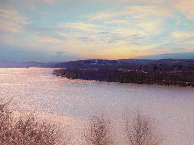 Connecticut river view from Gillette Castle.