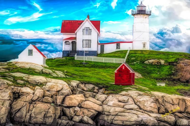 Nubble light York Maine.