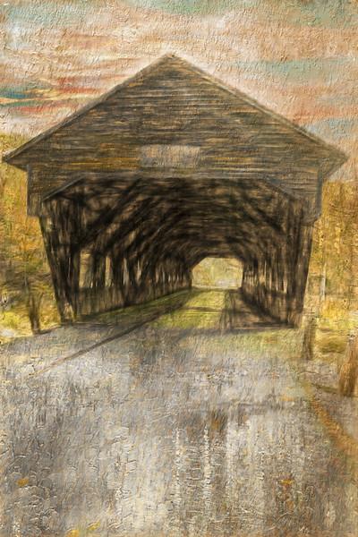 A Rustic Covered Bridge