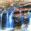 Small waterfall art