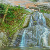 An artist waterfall landscape.