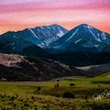 A western Montana mountain landscape.