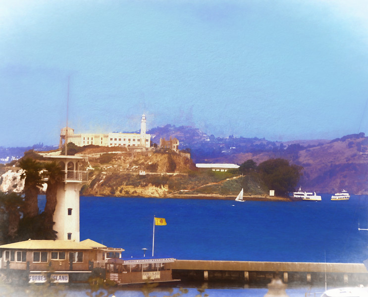 San Francisco Bay and alcatraz