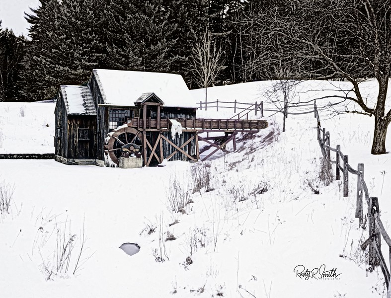 The old Grist Mill. Guildhall Vermont