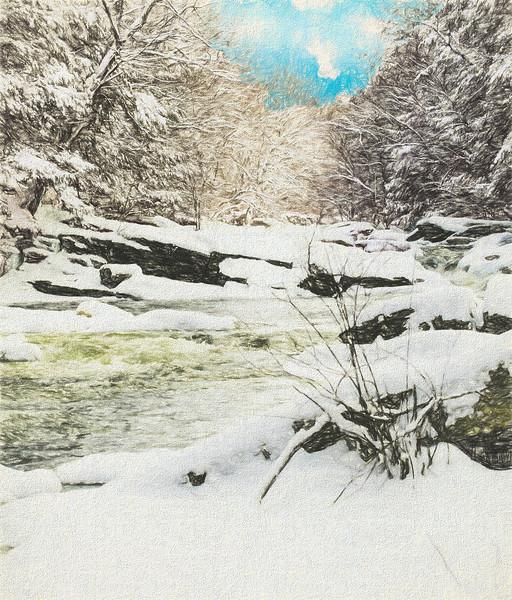 Snow on the Natchaug