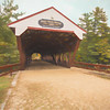 The Swift River Covered Bridge,in North Conway New Hampshire. Lo