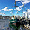 Sailboat at the dock